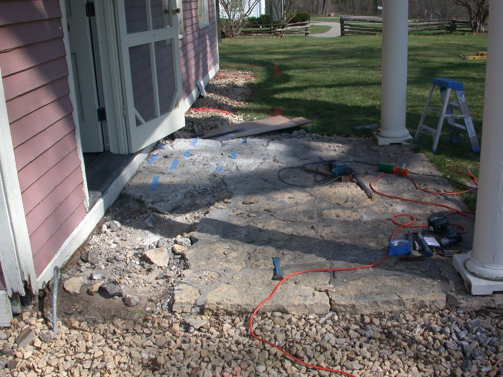 SO Corner Patio Pre Dig